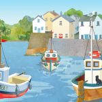 848-harbour-village-mug