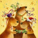 603-Reindeer-party