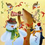 626-christmas-reindeer-party