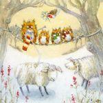 716-owl-3-little-owls-sheep