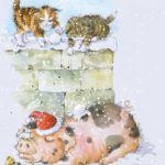 787-2-kittens-pig