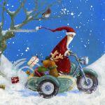 614-a-santa-reindeer-sidecar