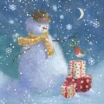 810-snowman-presents-robin
