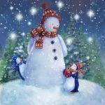 870-snowman-penguins